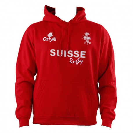 Swiss Rugby hooded sweatshirt - 40% DISCOUNT